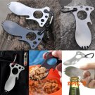 5 IN 1 Pocket EDC Screwdriver Bottle Opener Spoon Survival Kits Camping Gear f9 BC130