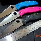 Custom Hot sale Custom C10 Folding Pocket Knife Tactical Survival Knives Camping Knives Ou