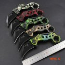 New 5 colors scorpion claw knife outdoor camping jungle survival battle karambit cs go fol