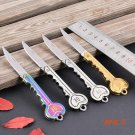 Wholesale Retail OK key tool knife gift knife outdoor portable mini Fold Pocket Chain Knif