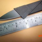 50pcs/lot Iain Wallet Folding Blade Safety Mini Pocket Knife Credit Card Tactical Rescue C