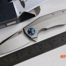 ZeroTelerance ZT Flipper 0456 Folding Knife titanium handle Ball Bearing hunting camp Pock