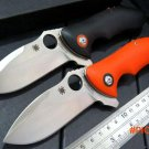 Custom C187 Folding Blade Knife Rubicon CPM-S30V G10 Handle Ball Bearing Flipper Camping S