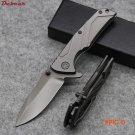 Dcbear High Quality knives Pocket Tactical Combat Folding Knife 7CR17 Blade Hunting Knife
