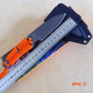 Oem Ultimate paracord full tang fixed blade knife, outdoor camping hunting survival rescue