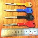 1 PCS WTT Stainless Steel Folding Key Knife Tactical Key Chain Gift EDC Tool Mini Pocket K