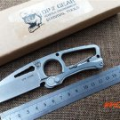 Outdoor camping multifunctional survival knife S35VN DPX fixed blade hunting tool knife ut
