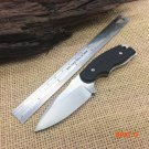 Rescue Neck Knife,8Cr13 Blade G10 Handle Tactical Survival Knife,Small Fixed Knives. BC1023