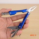 Hot 9 in 1 Outdoor Stainless Steel Survival Camping Knife Foldable Plier Screwdriver Key r