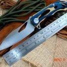 Newest ALEX Flipper Bearing folding Knife 9cr Blade steel knife steel handle camping outdo