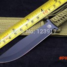 Best Quality,Big Size MP9 Fixed Knife,5CR15MOV Army Green Rope Handle Outdoor Tactics Knif