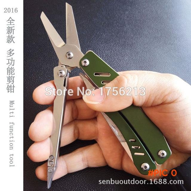 2016 New Arrival Multi Pliers Multitool Pocket Knife Pliers for Camping BC1210