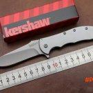 New OEM KS 3655 Tactical flipper folding knife 8Cr13Mov blade 410 steel handle camping kni