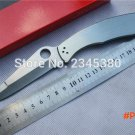 C07P folding knife,9cr18mov blade,Handle stainless steel,outdoor camping pocket Survival k