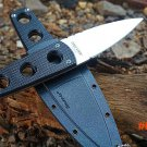 Grady Fung Clone Version Cold Steel SECRET EDGE EDC Fixed Blade Knives G10 handle Secure-E