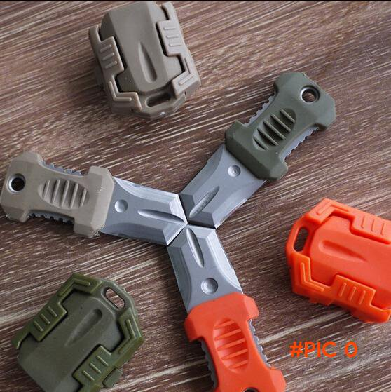 HOT Mini Beetle Knife Camping Survival Hand Tool for Molle System EDC Pocket Outdoor Gear