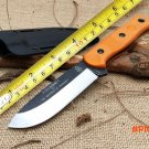 TOPS Fieldcraft Hunting Fixed Knife,9Cr18Mov Blade G10 Handle Brothers of Bushcraft Tactic