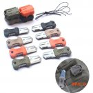 EDC Mini Stainless Steel Molle Webbing Buckle Survival Pocket Knife Outdoor Shiv BC1567