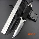 New Leggings/Paratroopers Knife Stainless Steel Diving Straight knife Outdoor Survival Cam