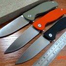 Efeng F3 Camping Folding Knife 9Cr Blade G10 Handle Pocket Tactical Knife Flipper Outdoor