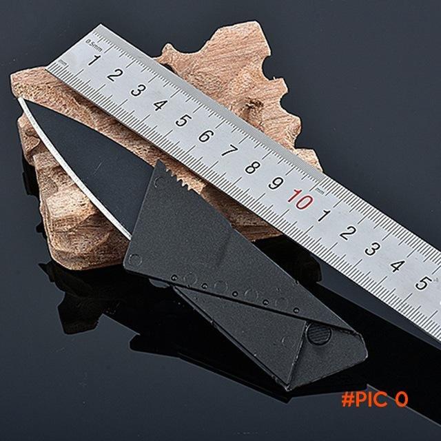 5pcs/Lot Credit Card Knife Tools Wallet Folding Safety Mini Pocket Knife Tactical Rescue C