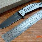 """High Quality! Efeng folding knife Nura Framelock Knife 4035TIKVT 4 5/8"""" closed. 3 1/2"""