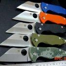 Multi-colored EDC Tool Yojimbo 2 C85 Knife G10 Handle 9Cr Blade C85GP2 folding Fixable cam