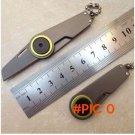 Outdoor equipment EDC Gear Fold pocket Mini tool portable cuchillo keychain knife Self Def
