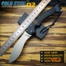 Very Sharp Cold Steel Camping Folding Knives D2 steel Blade Kraton handle  Outdoor Surviva