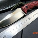 Custom WF-Z1 Camping TOOL Straight Knives Hunting Fixed Blade Knife D2 blade .60HRC Blade