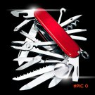Swiss 17 in 1 Pocket Folding Multi Tool Knife Army Suvival Stainless Steel Outdoor Camping