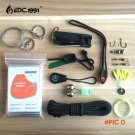 14 in1 Outdoor Camping Survival Kit Paracord 550 With Knife flint and steel Carabiner Edc