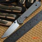 Ben small sebenza 21 D2 TC4 titanium handle folding knife camping hunting outdoor survival