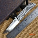 Ben Hanada S35VN blade folding knife Titanium handle outdoor camping hunting pocket knife