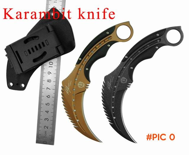 Outdoor Karambit knife Hunting Knife Sharp Jungle Claw Knives Faca Militar Canivete Tatico