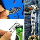 Stainless Steel Suspension Clip For Knife Tool With Hex Wrenches EDC Pocket Camping Travel