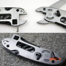 Hot Sale Outdoor Camping Tool Sets Multi Functional EDC Adjustable Wrench Jaw Screwdriver