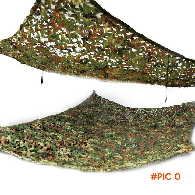 2x3m Woodland Camouflage Net toldo Camo Netting Camping Military Hunting shelter carpas su