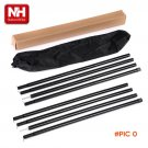 Outdoor tentorial mount aluminum alloy thickening awning shade sun shelter rod tent rod su