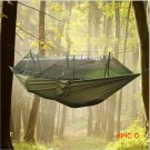 Portable hammock one person garden tent Folded Into The Pouch Mosquito Net Hanging Bed For