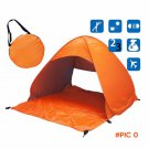Outdoor Waterproof ultralight polyester fabrics 1-2 Person UV protection tent Travel Campi