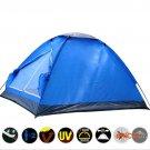 Outdoor Hiking beach fishing Tent PE Bottom 3 Seasons Waterproof UV tenda carpas 2 people