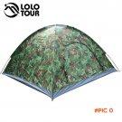 Outdoor 4 Person Camouflage Camping Tent Beach Tourist Fishing Trekking Tenda Pergola Tarp