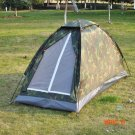 Portable Camping Tent for 1 Person Single Layer Waterproof Outdoor Tents Camouflage for Ca
