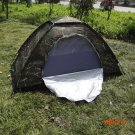 Outdoor Camping Fishing Camouflage Tent Single Layer Waterproof Portable UV-resistant Rain