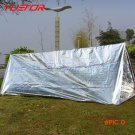 YUETOR first aid survival emergency shelter tents pet aluminized film outdoor summer campi