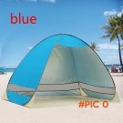 Outdoor Camping Tent Waterproof 2 Person Awning Sun Shade UV Protection Rainproof Beach Hi