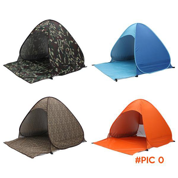 2-3 Persons Outdoor camping hiking beach summer tent UV protection fully sun shade quick o