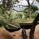 new Parachute Anti Mosquito Net Hammock Beach Tent Camping Sleeping Hammock Portable Outdo
