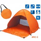 Portable Outdoor Camping Beach Picnic Pad Cushion Canopy Automatic camping tent beach shad